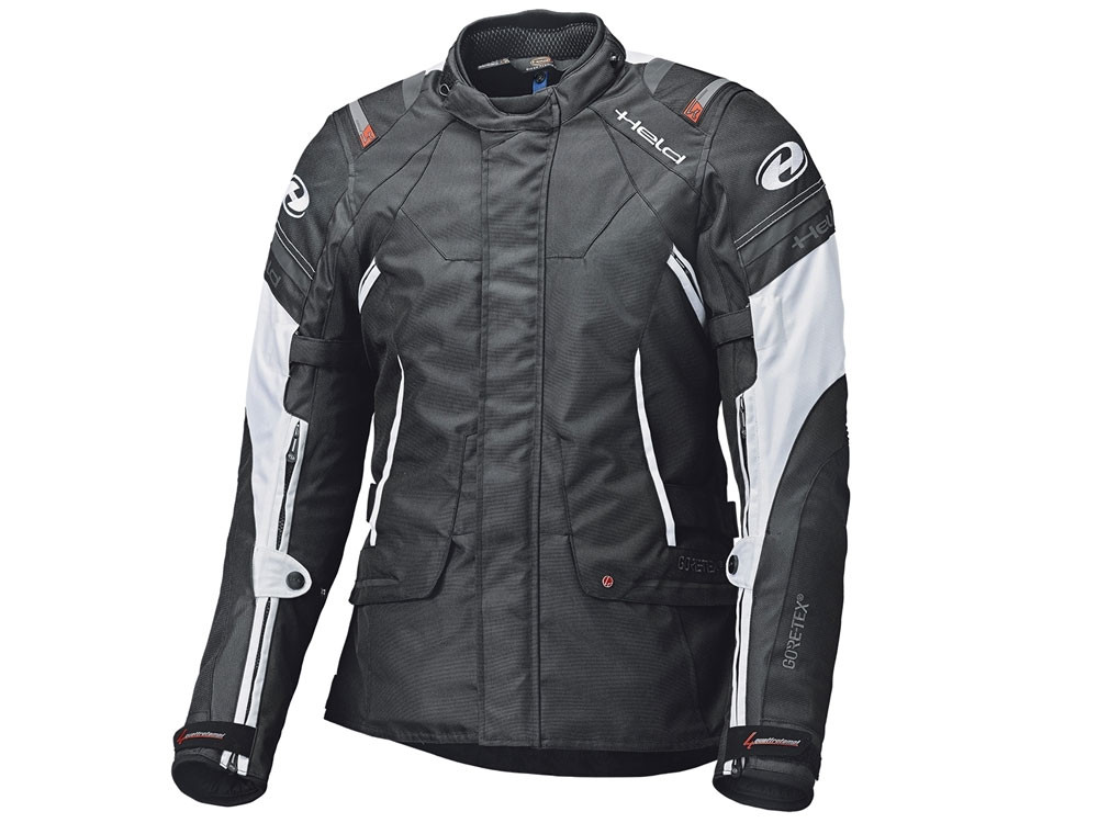 Held GTX Molto Motorcycle Jacket (black / white)