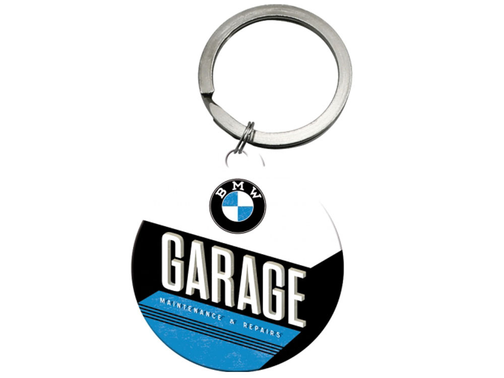 Nostalgic Arts BMW Garage Key Ring