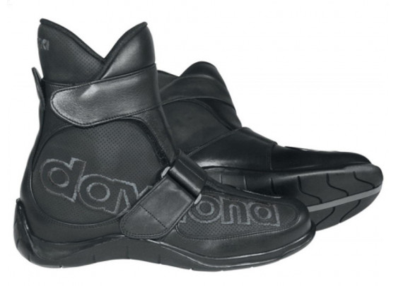 Daytona Shorty Motorcycle Boots (black)
