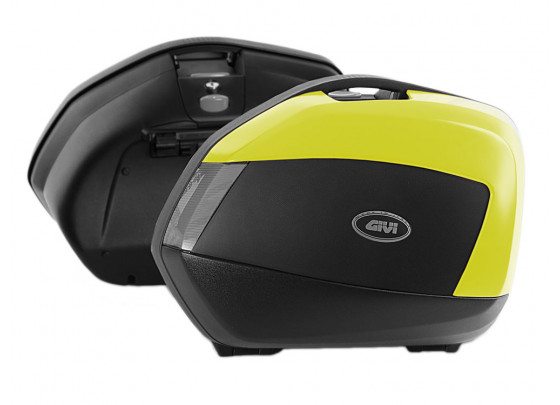 GIVI V35NTFL Monokey SIDE Side Pannier Set (Tech Yellow)
