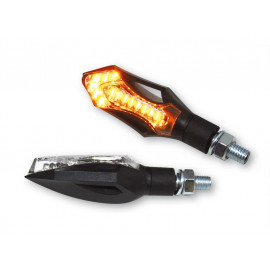 Shin Yo Hatch LED Motorcycle Turn Signal Set (black)
