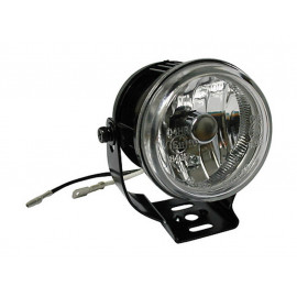 Shin Yo Fog Lamps round (black) clear Glass
