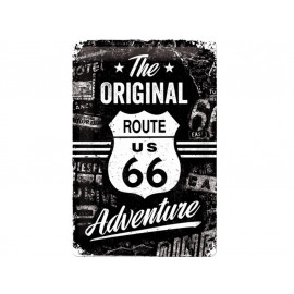 Nostalgic Arts Route 66 The Original Adventure Metal Sign (20x30cm)