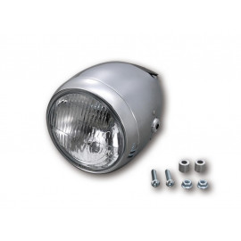 Daytona Vintage Motorcycle Headlight (chrome) H4