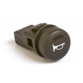 P&W Horn Button to wedge with Symbol (black)