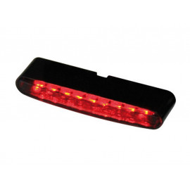 Highsider Stripe LED Motorcycle Tail Light (tinted Lense)