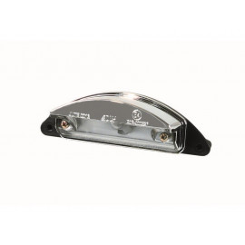P&W License Plate Light (chrome)