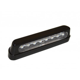 Shin Yo LED License Plate Light Long (black)