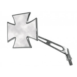 Shin Yo Gothic Chopper Motorcycle Mirror (chrome) left