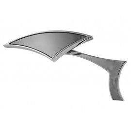 Shin Yo Indiana Chopper Motorcycle Mirror (chrome) left