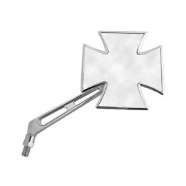 Shin Yo Gothic Chopper Motorcycle Mirror (chrome) right