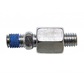 P&W Adapter for Mirror M8x1.25mm right-hand thread (chrome)