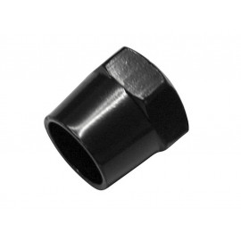 P&W Mirror Nut 17mm M10 x 1.25mm for Mirror Arms with 12mm Diameter (black)