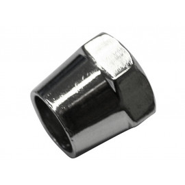 P&W Mirror Nut 17mm M10 x 1.25mm for Mirror Arms with 12mm Diameter (chrome)