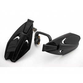 P&W Offroad-Handguards (Pair) with Mounting Kit (black)