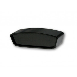 Highsider Telltale meter (black) smoked Glass