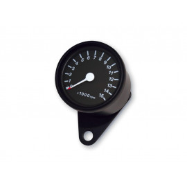 P&W RPM Counter 60mm 15.000 R/min (black)