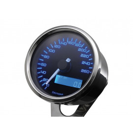 Daytona Velona Digital Speedometer (anthracite) untill 260 km/h