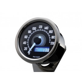 Daytona Velona Digital Speedometer (anthracite) untill 200 km/h