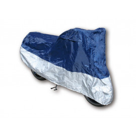 Shin Yo Motorcycle Cover L (blue/silver)