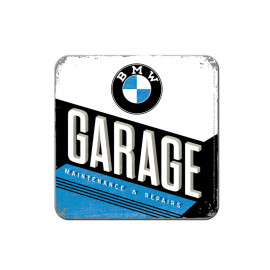 Nostalgic Arts BMW Garage Coaster (9x9cm)