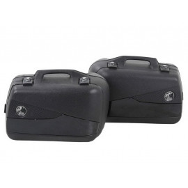 Hepco & Becker Junior Flash 30 Motorcycle Side Pannier Set (black)