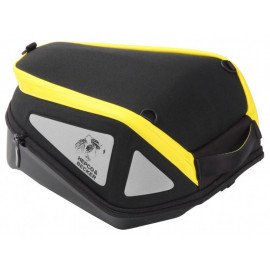 Hepco & Becker Royster Lock-It Tank Bag (black/yellow)