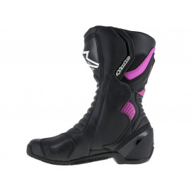 Alpinestars Stella SMX-6 V2 Motorcycle Boots Lady (black/purple)