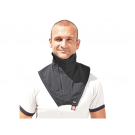 Held Neckwarmer with Zip (black)