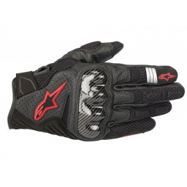 Alpinestars SMX-1 Air v2 Motorcycle Gloves (black / red)