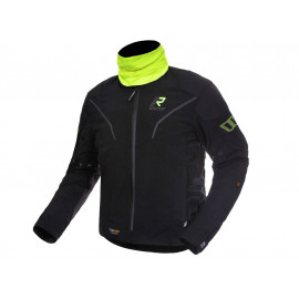Rukka Elas GTX Motorcycle Jacket (black / neonyellow)