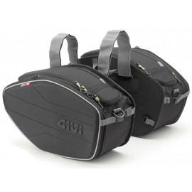 GIVI EA101B Motorcycle Saddle Bags (2 x 19-25 Liter) for sportive bikes