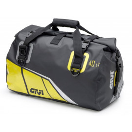 GIVI Easy Bag Waterproof Luggage Roll with Carrying Strap (40 Liter   black / yellow)