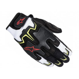 Alpinestars Fighter Motorcycle Gloves (black/yellow/red/white)