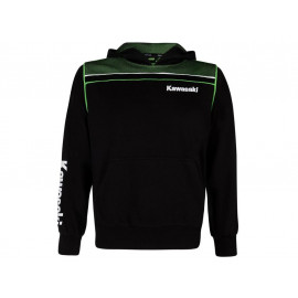 Kawasaki Sports Hooded Sweatshirt Kids (black)