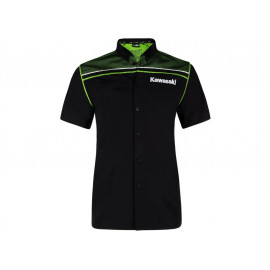 Kawasaki Sports Short Sleeve Shirt Lady (black)