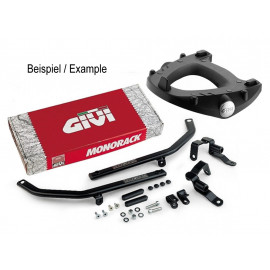GIVI Monokey FZ Motorcycle Rear Rack Ducati Monster 696/1100 (2008-2010) / EVO (2011-2012)