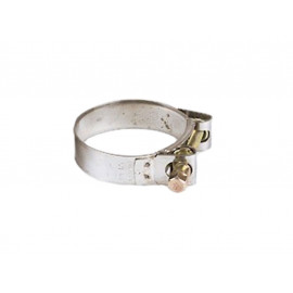 P&W Exhaust Clamp Stainless Steel 34-37mm