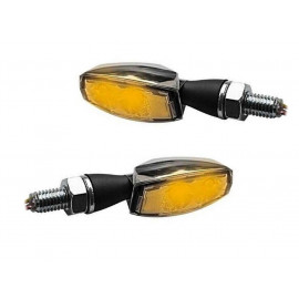 Highsider Blaze LED Motorcycle Turn Signal Set (chrome)