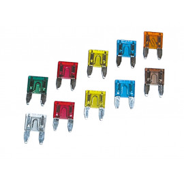 P&W Mini Fuse 10A (10 pieces)