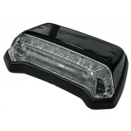Shin Yo LED Fender Motorcycle Rear Light (black) clear Glass