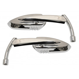 Shin Yo Custom Knife Motorcycle Mirror Set (chrome)
