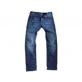 rokker Rokkertech Slim Straight Motorcycle Jeans Men incl. T-Shirt (blue)