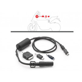 GIVI USB Cable Set for Battery connection 12V